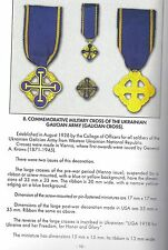 Ukrainian military medal cross WWI  WW1 Galician Army Western Ukraine order