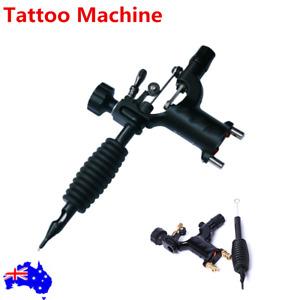 Pro Dragonfly Rotary Tattoo Machine Gun With Tattoo Grip Tattoo Tool Black