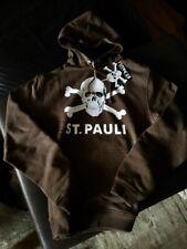 FC St. Pauli Damen Hoody Sweatshirt Totenkopf S braun neu Millerntor neu Kapuze