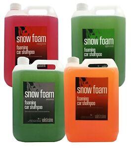 Snow Foam - Car Valeting - Fragrance Range - 5L - Valetissimo
