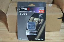 Sandisk Ultra II Memory Stick PRO Duo 4GB Brand New Sealed!