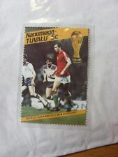 1986 World Cup Stamp: Nanumea-Tuvalu - Hungary Player