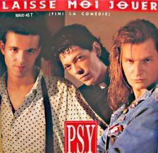 ++PSY laisse moi jouer (3 versions) MAXI PROMO 1989 ARIOLA VG++