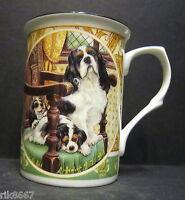 King Charles Spaniel Dog By Mellor Fine Bone China Mug Cup Beaker