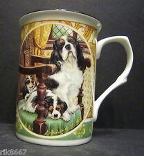 King Charles Spaniel By Mellor Fine Bone China Mug Cup Beaker
