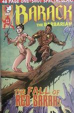 PRESIDENT OBAMA: Barack The Barbarian Fall of Red Sarah (Palin) Plus Bonus Comic