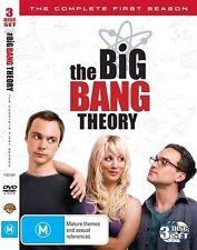 The Big Bang Theory : Season 1 (PAL, Region 4 DVD, 2009, 3-Disc Set)
