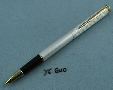 One Lot of Wing Sung 234 Fountain Pen Fine Nib 6 Pens 3 Golden & 3 Silver