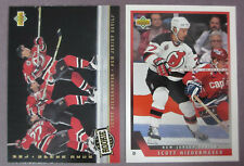1993-94 Upper Deck Lot Of 2 Scott Niedermayer New Jersey Devils