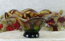 Schale Murano Dekoschale Glaskunst XXL Glasschale Glas Prunkschale Obstschale