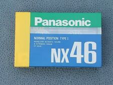 Panasonic NX 46 Blank Audio Cassette Tape Type I Normal Position Made in Japan