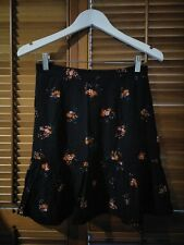 Princess Highway Tea Floral Skirt - Size 10