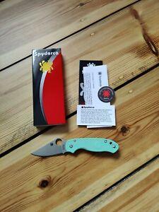 Spyderco Para 3 Lightweight CPM M4 Jade Green C223PGGRM4 EDC Messer No Benchmade