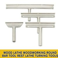 "3.5"" 6 "" 9"" 12"" Wood Lathe Woodworking Round Bar Tool Rest Lathe Turning Tools"