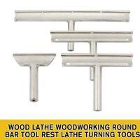 "3.5"" 6 "" 9"" 12"" Wood Lathe Woodworking Round Bar Tool Rest Lathe Turning Tools"