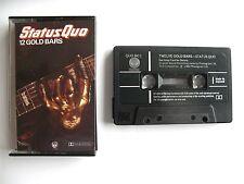 Status Quo - 12 Gold Bars - Cassette - QUO MC1