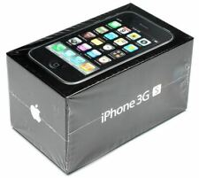 Apple iPhone 3GS 8GB Black - Brand New Factory Sealed - Rare Collector's Item