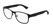 *NEW AUTHENTIC* GUCCI 0013O 001 BLACK EYEGLASS FRAME, SIZE 55mm