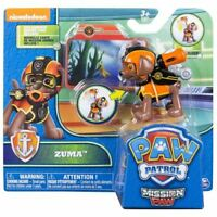 Paw Patrol Mission Zuma Pup Pack and Mission Card