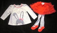 Gymboree NWT Animal Friends Bunny Shirt Tutu Tights 3 6 12 Months $54