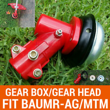 BRUSH CUTTER GEARHEAD GEARBOX W/9 SPLINES SUIT Baumr-AG/MTM CHAINSAW MULTI TOOL