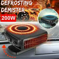 12V 200W Car Auto Electric Heater Heating Cooling Fan Window Defroster Demister