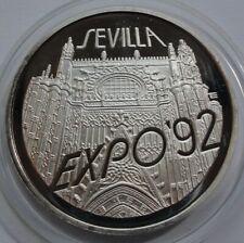 200000 ZLOTYCH POLAND 1992  Silver 999 SEVILLA EXPO 92