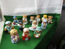 Lucy & Me - Lucy Riggs - Enesco Teddy Bear Figurines - Lot of 13. D171