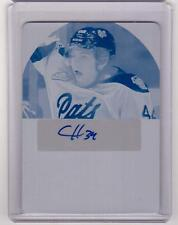 CONNOR HOBBS /15 Leaf Signature Series Printing Plate #1/1 Auto Autograph Rookie