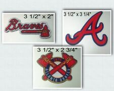 Atlanta Braves Iron On Patch Choice of Style Free Shipping in Envelope Mail