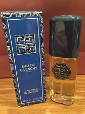 EAU DE GIVENCHY PERFUME EDT 100 ML / 3.3 OZ SPRAY RARE DISCOUNTINUED ORIGINAL