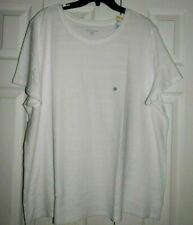 NEW LAURA SCOTT WOMAN PLUS SIZE TOP SIZE 3X SHORT SLEEVE WHITE TEXTURED FABRIC