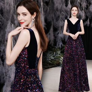 Noble Evening Formal Party Cocktail Ball Gown Prom Host  Acting Dress TSJY18907