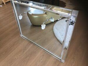 Superb Antique Bathroom or Bedroom Mirror