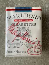 Vintage Pack Marlboro Cigarettes Empty Package Pack 1954 series 124