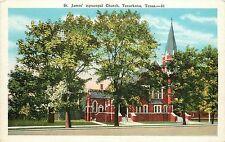 Vintage Postcard St. James Episcopal Church Texarkana TX Bowie County