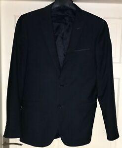 Cedar wood State Navy Blue Slim Fit Blazer / Suit Jacket Size 40 L