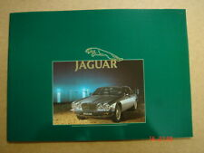 JAGUAR  Four-Door Saloon range  brochure / Prospekt  1984.