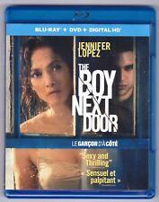 The Boy Next Door (Blu-ray/DVD, 2015, Canadian Bilingual) Jennifer Lopez