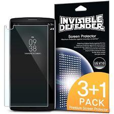 LG V10 Screen Protector | Ringke [Invisible Defender] Protective Film [4 Pack]