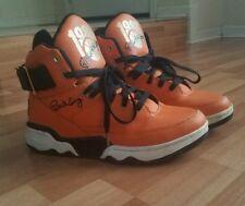 Patrick Ewing 33 HI Shoes Basketball Orange & Black - 1986 Rookie of the Year