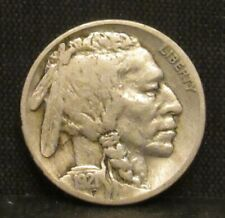 1921 S Buffalo Nickel VF