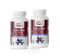 L-Ornithin 500 mg 240 Kapseln 100 % natürlich aus Fermentation gewonnen Sehr gut