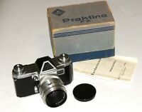 KW Praktina Great 35mm camera Carl Zeiss Biotar lens 2/58 IN A BOX