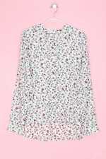CLOCKHOUSE Bluse mit D 34 weiß Kolibri Oberteil Top