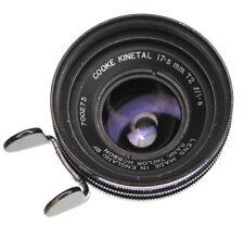 Cooke Kinetal 17.5mm f1.8 (T2) Arriflex standard mount  #700275