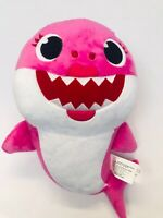 Baby Shark Plush Singing Pink Mommy Toy Sings 12 Inch Pink Frog with Sound
