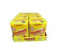 Starburst Chewing  Sugar Free Gum 100 Fruity Pieces 6X 69g & 3 Flavours FREE P&P