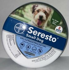 Bayer Seresto Small Dog Flea and Tick Collar - 8 Month Protection - One Collar