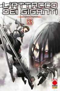 L'Attacco dei Giganti N° 33 - Planet Manga - Panini Comics - ITALIANO NUOVO